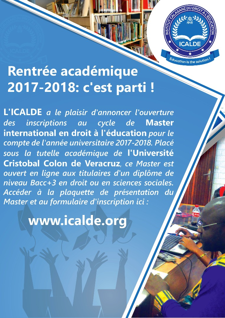 Academic year 2017-2018: it's gone!