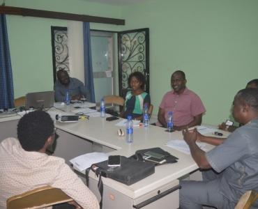 Reunión del equipo directivo del ICALDE.